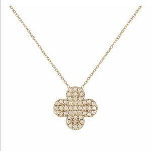 Clover Pendant Necklace NWOT